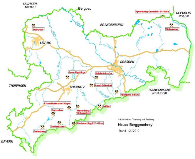 Bergbau Erzgebirge Karte.Sachsenerz Bergbau Gmbh Bergbauaktivitat Im Erzgebirge